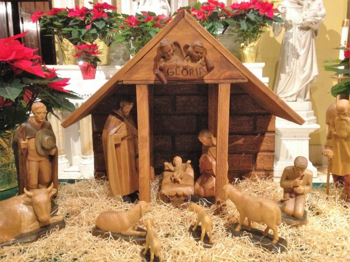 Pope's Message on Meaning of Nativity Scenes