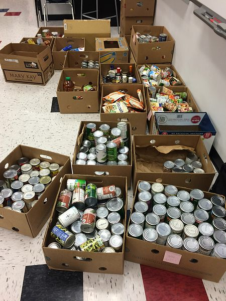 Thanksgiving Food Drive and Distribution