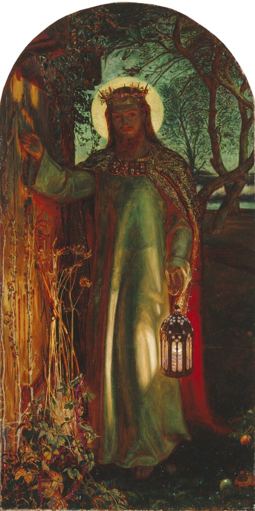 Light of the World, William Holman Hunt, 1851-1853, Manchester Art Gallery.