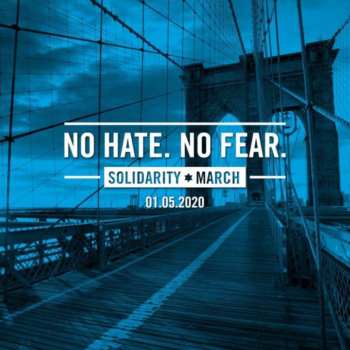 No Hate, No Fear March